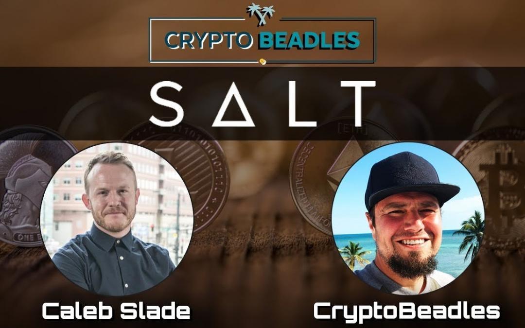 Salt Lending and their crypto lending platfrom
