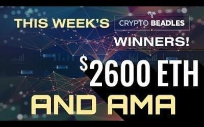 $2,600 Given away live. Bitcoin, Blockchain, Crypto AMA and more