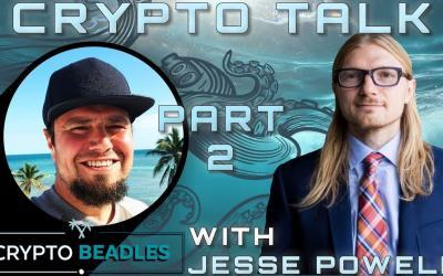 ⎮Kraken⎮Part 2⎮Jesse Powell⎮Rolling Back Bitcoin and other amazing insights⎮Crypto⎮