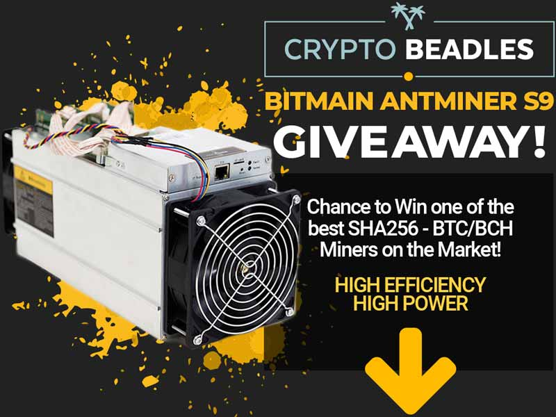 Bitman antminer giveaway | CryptoBeadles